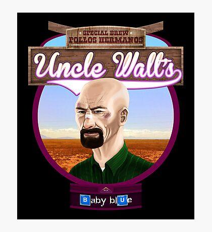 Uncle Walt's Baby Blue Meth Photographic Print