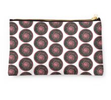 Mosaic swirling sphere pattern red Studio Pouch