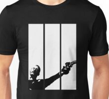Leon With A Gun - White Unisex T-Shirt