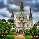St. Louis Cathedral Jackson Square by MClementReilly