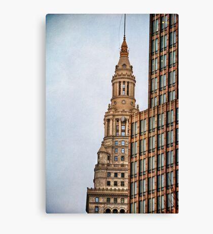 Downtown Cornerstones Canvas Print