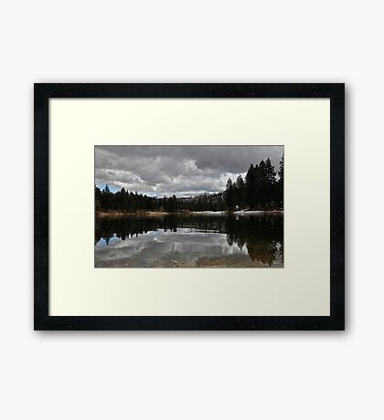 """Mirror Lake"" Framed Print"