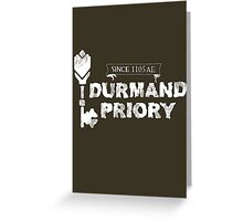 Durmand Priory Greeting Card