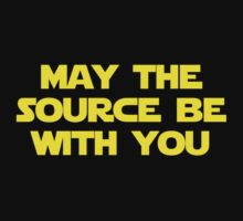 May The Source Be With You by krop ★ $1.49 stickers