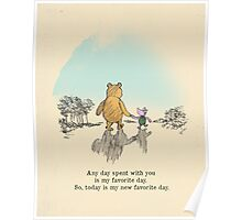 I love being with you Poster