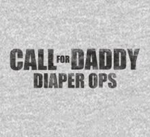 Call For Daddy: Diaper Ops (BLACK TEXT) by ajf89