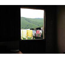 Clothesline  Photographic Print