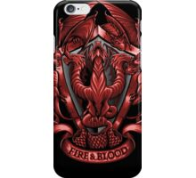 Fire and Blood - Iphone Case #2 iPhone Case/Skin