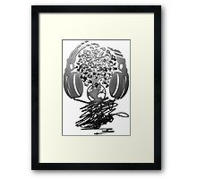 Earth_Music Framed Print