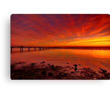 """Dawn Radiance"" Canvas Print"