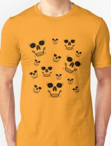 14 Skulls (Black Version) T-Shirt