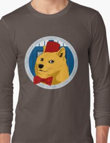 Wow Such Timelord! Long Sleeve T-Shirt