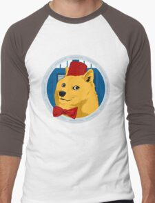 Wow Such Timelord! Men's Baseball ¾ T-Shirt