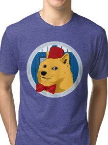 Wow Such Timelord! Tri-blend T-Shirt