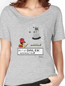 Doctormon - A wild DALEK appeared! Women's Relaxed Fit T-Shirt
