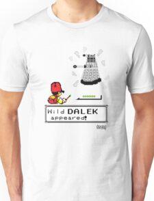 Doctormon - A wild DALEK appeared! Unisex T-Shirt