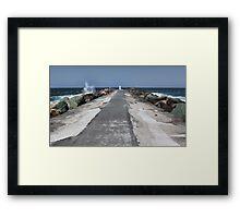 Seaway Framed Print