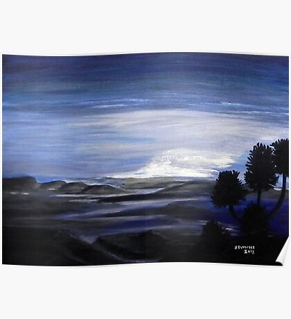 Dawn over Zululand. By Jane Flowers Poster