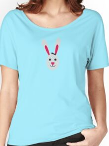 Rabbit with ribbon Women's Relaxed Fit T-Shirt