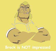 Brock is NOT impressed One Piece - Short Sleeve