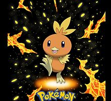 "Start With Torchic ""IPHONEs , S4 & S3 only"" by Winick-lim"