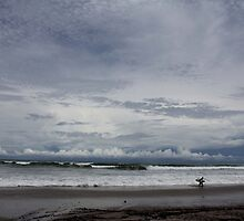 Surf Break at Nosara, Costa Rica  by sarafureyphoto
