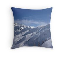 Bluebird Mt. Baker Throw Pillow