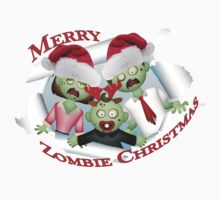 Merry Zombie Family Christmas by FireFoxxy