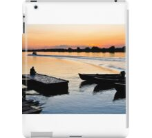 Evening relaxation iPad Case/Skin
