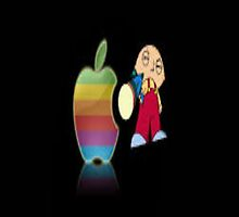 Apple Stewie by Justin Kalaveras