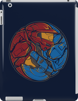 The Tao of RvB - Ipad Case by TrulyEpic