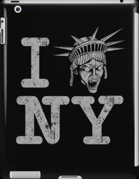 Angels love NY - Ipad Case by TrulyEpic