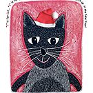 Christmas Cat by Margaret Krajnc