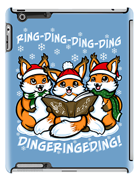 What does the Fox Sing - Ipad Case by TrulyEpic