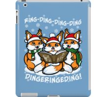 What does the Fox Sing - Ipad Case iPad Case/Skin