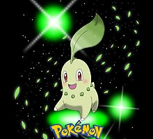 "Start With Chikorita ""IPHONEs , S4 & S3 only"" by Winick-lim"