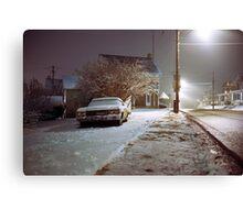 Snowy Evening Canvas Print