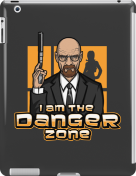 I am The Danger Zone - Ipad Case by TrulyEpic