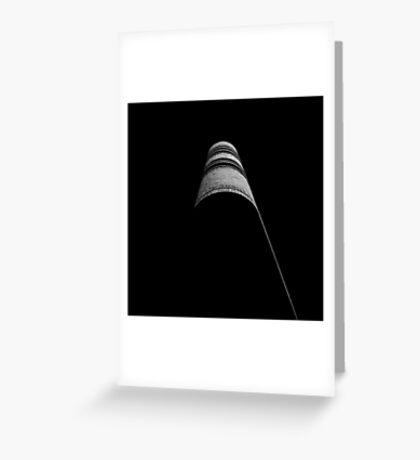 Scholarly Abstract Greeting Card