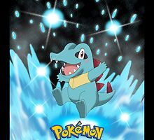 "Start With Totodile ""IPHONEs, S4 & S3 only"" by Winick-lim"