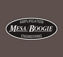 Mesa boogie Amp (BW) Oval  decoration Clothing & Stickers by goodmusic