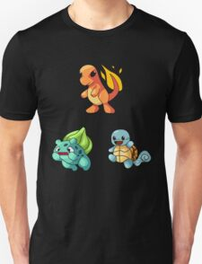 Kanto Starters - New T-Shirt