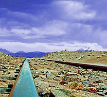 Lone Railway by BlueAurora