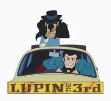 LUPIN The Third Kids Tee