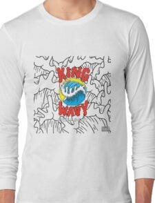 King Wavy  Long Sleeve T-Shirt