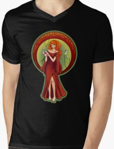 Ultimate Protection Mens V-Neck T-Shirt