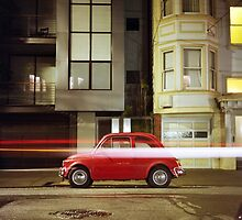 Little Red Car by Daniel Regner