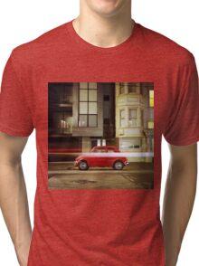 Little Red Car Tri-blend T-Shirt
