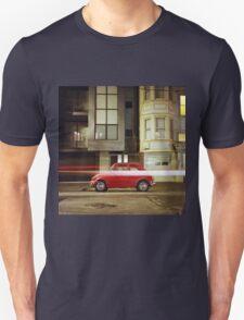 Little Red Car Unisex T-Shirt
