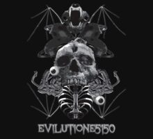 EvilutionE5150 Metal Design 5 Kids Tee